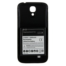 Wubatec 1x 5800mAh EXtended Battery + 3 Optional Color Back Cover For Samsung Galaxy S4 SIV i9500 I9502 i9505 i9508 i9505 I545(China)