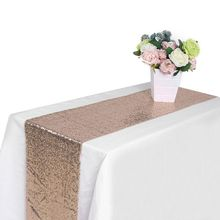 European Table Runner Modern Tea Table Flag Home Supplies Sparkly Bling Wedding Party Decoration