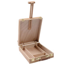 SZ Hot Easel Artist Craft with Integrated Wooden Box Art Drawing Painting Table Box