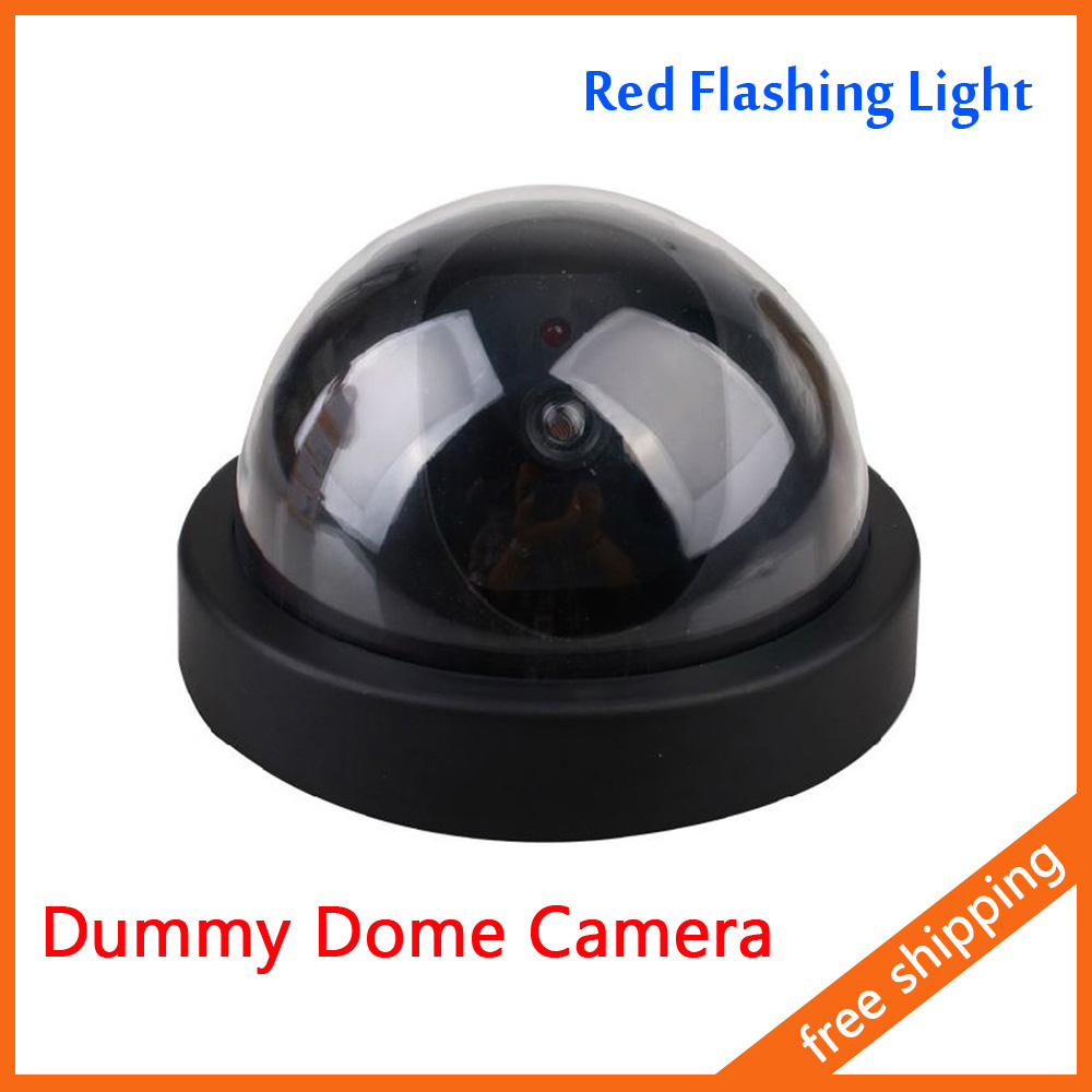 Dummy Fake Dome Camera Security Camera CCTV Home Use With Red Flashing Light<br><br>Aliexpress