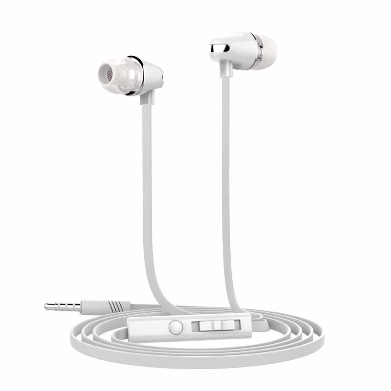 Langsdom JV23 Volume control earphone With Microphone for iphone 6S for Samsung S7 S6 S5 For xiaomi Redmi 4 Earphone for PC MP3