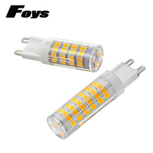 Hot Sale Super Bright G9 LED Lamp AC220V 4W 5W 7W Ceramic SMD2835 LED Bulb replace 30W 40W 50W Halogen light for Chandelier