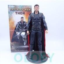 31CM Avengers: Endgame Thor Chris Hemsworth 1/6 PVC Action Figure Collectible Model Toy BOX W12(China)