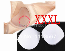 20set White Sewing In Bra Cups Soft Foam Size XXXL Clothing Set Sewing Suppliers WB16(China)
