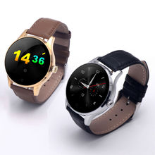 Original K88H Siri Voice Smart Watch support Weather reminder IPS capacitive touch screen Magnet  Pogo pin Charger with Speaker