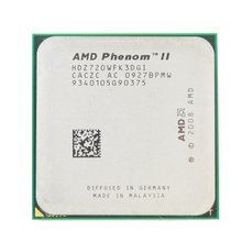 AMD Phenom II X3 720 Processor Triple-Core 2.8GHz Socket AM3 938-pin 95W  Desktop CPU