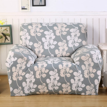 Loveseat Floral Stretch Furniture Covers Universal L-shaped Sofa Cover Elastic Slipcovers Living Room Sofa Decor Removable