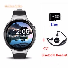 "I4 Smart Watch Android 5.1 1GB+16GB MTK6580 1.39"" Support 3G WiFi GPS Heart Rate Bluetooth SmartWatch for IOS Android Phone"