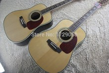 Chinese Factory musical Instruments Custom NEW Natural acoustic guitar 41 inch Dreadnought acoustic guitar 45 guitar Stock 424