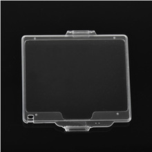 new Hard Plastic Film LCD Monitor Screen Cover Protector For N D600 D610 BM-14 BM14 free shipping