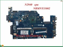 High Quality MB NBMNY11002 For Acer aspire E5-511 Laptop Motherboard Z5WAL LA-B211P N2940 CPU Integrated DDR3L 100% Tested(China)