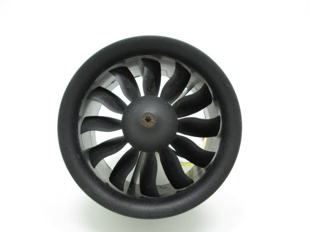 RC Fixed wing plane 64mm 12-blade Ducted fan engine set with 6S 1900KV  4S 3000KV motor<br>