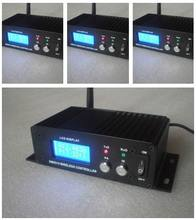 4Pcs/Lot 2.4Ghz Dfi Wireless DMX Receiver & Transmitter System Lcd Display Led Lighting Stage Beam Light Dmx512 Control Box