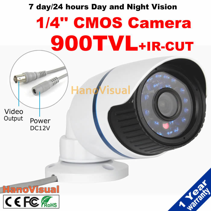 With IRCUT Filter No Chromatic Aberration Good Color Image At Daytime 900TVL 1/4CMOS CCTV Camera Waterproof Surveillance Camera<br><br>Aliexpress