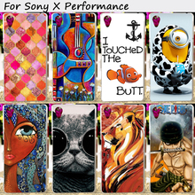 Soft TPU Mobile Phone Cover For SONY Xperia X performance F8131 F8132 SONY xperia XP Dora SS Cases Back Skin Shell Hood Housing
