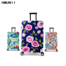 Fashion Thickened Luggages Cover Protective 4 Sizes S/M/L/XL For Trolley Case  Elastic Perfectly Suitcases Protective Covers