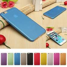 Soft Case Slim Matte Transparent protective Cover mobile phone bag for iPhone 5 5s se 6 6s 7 8 7 plus x ultra-thin Phone Shell(China)