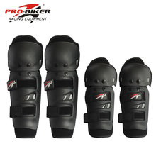 4Pcs Motorcycle Protective kneepad Knee Protector equipment for joelheiras de motocross CE Approval Guards racing(China)