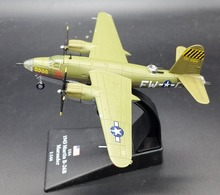 AMER 1: 144 World War II US military B-26B Marauder bomber model Alloy aircraft model