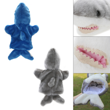 Shark Hand Puppet Baby Kids Game Playing Toys Developmental Soft Cartoon Stuffed Doll Animals Fun Toys for Children