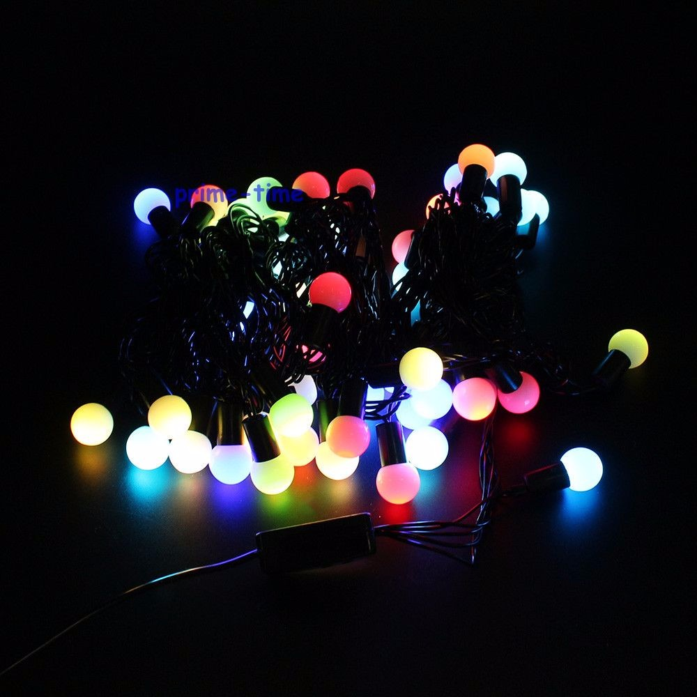 10M 100 LEDs 110V 220V IP44 Outdoor Multicolor LED String Lights Christmas Lights Holiday Wedding party decotation Luces LED<br><br>Aliexpress
