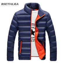 BSETHLRA 2017 Winter Jackets Men Hot Sale Casual Outwear Windbreak Coats Thick Cotton Warm Parka Men Fashion Brand Clothing 4XL(China)