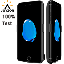 Newest JOYZON Battery Charger Case For iPhone 7 Plus 6 6s 8 Plus Power Bank External Rechargeable Power Case Extended Battery(China)