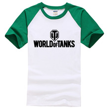 World Of Tanks T Shirt men Manufacture World War ii Tank T-SHIRT Men Short-sleeve Top Tee 2017 summer style Funny brand clothing