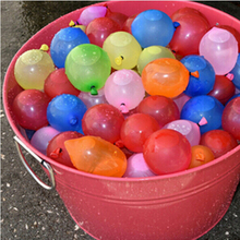 50Pcs Water Bombs Colorful Water Balloons For Children Party Hot Summer Sands Beach Swimming Pool Small Balloon air balloons