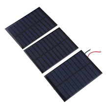 NEW 5V 160mA Solar Panel Battery power charger Module DIY Cell boat home Solar Panel Portable Power