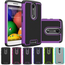 Ballistic Silicone + Plastic Hard back Cover Shockproof Rugged Case For Motorola Droid Turbo 2 / Moto X Force XT1580 / Moto X3(China)