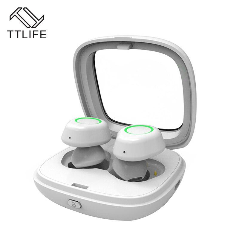 TTLIFE Mini Wireless Bluetooth 4.1 Earbud TWS-T01 Sport Handfree Earphone Long Standby Earphone With HD Micro For Phones Xiaomi<br>