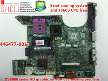 446477-001 for hp DV6000 series motherboard for intel GM965 HD graphic,can fit 446476-001, 460900-001,but not fit AMD laptop