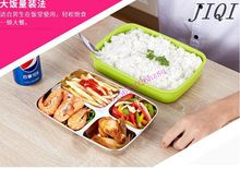 food heating lunch box insulation boxes 304 stainless steel  Thermal insulation lunch box  in house or  in car in truck