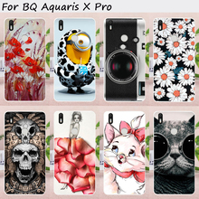 Mobile Phone Cases For BQ Aquaris X Pro BQ Aquaris X BQ X funda BQ X pro cover 5.2 inch Cover Case Soft TPU Silicon Skin Bag