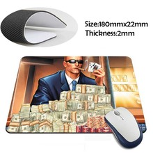 duke nukem forever Rubber Soft aming Mouse ames Black Mouse pad