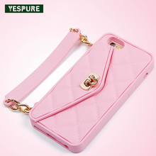 YESPURE Fancy Soft Silicone Wallet Phone Case for Iphone 6 6s Luxury Women Phone Cover Small Money Purse Fundas Fille for Girls(China)