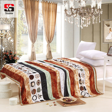 Sookie Fleece Blanket Pastoral Style Bedspread High Density Warm Soft Blankets Throw Sofa Bed Travel Plaids Bed Cover Quilt(China)