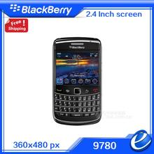 Refurbished Original  blackberry bold 9780  unlocked cell phone qwerty keypad 3G with american version 5.0MP Qwerty WIFI GPS