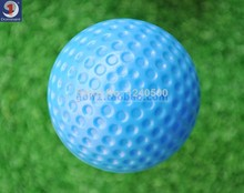 2017 Brand New Free shipping indoor exercise ball golf professional practice hollow ball 40pcs/lot(China)
