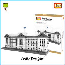 Mr.Froger LOZ Buckingham Palace Diamond Block World Famous Architecture Series Westminster London UK Model Building Toy Bricks