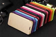 Luxury Classic Simple Style Top quality flip Phone cover leather case For Meizu M2 Mini Meilan M2 / 5.0inch