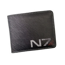 Free Shipping Game Wallet Game Mass Effect/ Call of Duty/ Skyrim Cool Coin Purse For Young Boy Girl Leather Short Money Bag(China)