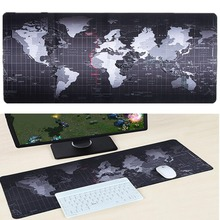 80cm x 40cm Mousepad Super Large Big Desk Cushion Table keyboard Mat Protector Mousepad game gamer gaming World map XL Mouse pad(China)