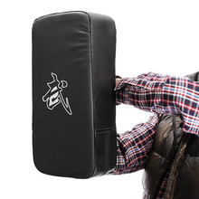 Fitness Taekwondo MMA Boxing Gloves Kicking Punching Pad PU Leather Training Gear Sanda Fighting Muay Thai Foot Target