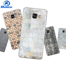 DIY For Samsung Galaxy A320 A3 2017 Phone Case For A3 2015 / 2016 Cover A300 A310 For A900 Soft TPU Bricks Printing Coque