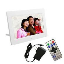 Superior Quality 7inch HD LCD Digital Photo Frame with Alarm Clock Slideshow MP3/4 Player with US plug Adapter Dec29