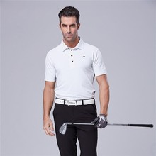 Teetimes Men's Anti-pilling Short Sleeve Golf Polo Shirt Indoor/Outdoor Sports Golf Apparel with Free Embroidery Logo(China)