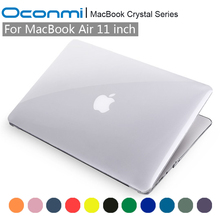 Crystal Transparent Clear Hard Case for Apple Macbook Air 11 cover 11.6 inch A1465 A1370 laptop bag for Macbook Air 11 case