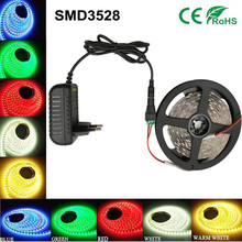 5M/Roll LED Strip Light dc12V 2835 SMD 300 LED Tape Light String Ribbon Non-Waterproof Warm White / Cool White/Blue/Red